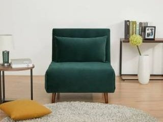 Tustin Upholstered Convertible lounge  Sleeper Chair  Retail 247 99