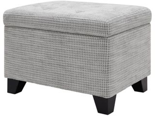 Julian Rectangular Fabric Storage Ottoman  Retail 141 49