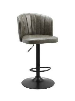 Art leon Adjustable Height Swivel Faux leather Barstools  Retail 122 49