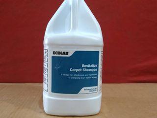 Gallons Ecolab Revitalize Carpet Shampoo 6195122  exp2022 01