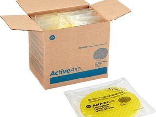 ActiveAire  GPC48261  low Splash Deodorizer Urinal Screen by GP PRO  12   Carton  Yellow