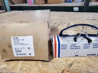 Box of 10 Uvex Industrial Protective Eyewear S1299 Andis Z87 1 CSA Z94 3
