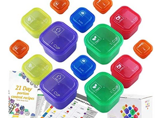 Gainwell Portion Control Container Set of 2 14pcs