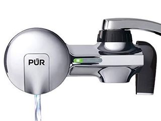 PUR PFM400H Faucet Water Filtration System  Horizontal  Chrome
