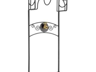 Metal Garden Hose Stand   Holds 130 Ft 3 5   Hose