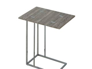 Coaster Company Weathered Wood and Metal Snack Table Retail 90 99