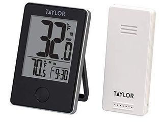 Taylor Precision Products Wireless Digital Indoor Outdoor Thermometer