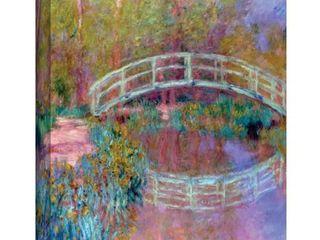 ArtWall  Claude Monet s Japanese Bridge  Gallery Wrapped Canvas