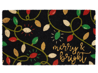 Design Imports Merry   Bright lights Doormat