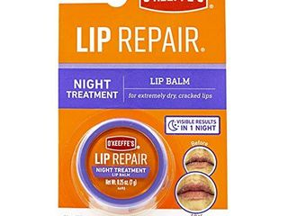 O Keeffe s lip Repair Night Treatment lip Balm  25oz Jar