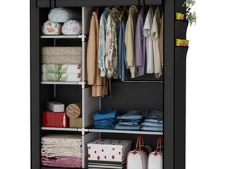 Portable Closet Black