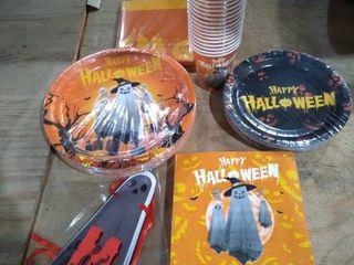 Ghost Halloween Paper Tableware Set