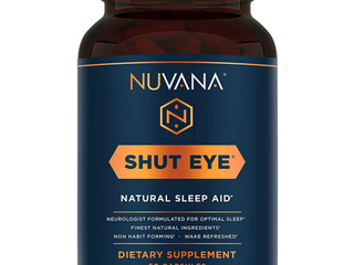 Nuvana Shut Eye Natual Sleep Aid
