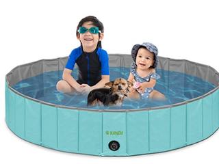 Dog Pool Plastic Foldable Kiddie Pool For Dogs