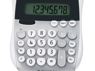 TI 1795SV Minidesk Calculator  8 Digit lCD