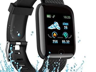 Smart Watch 2020 New Model  Men s and Women s Fitness Tracker  Blood Pressure Monitor  Blood oximeter  Heart Rate Monitor  Waterproof Smart Watch  Compatible with iPhone  Samsung  Android Phones