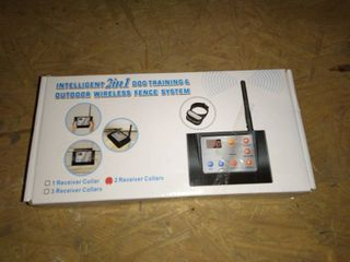 Intelligent 2in1 Dog Training and Outdoor Wireless Fence System