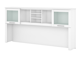 Strick   Bolton 72W Hutch only for l Shaped Desk  Retail 283 99 white