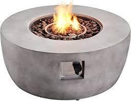 concrete finishing fireplace gray