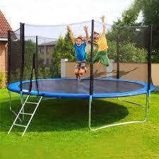 12 ft outdoor trampoline main part only no mat