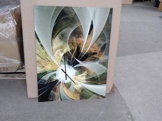 metal art clock