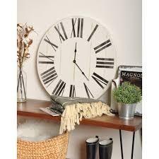 The Gray Barn Oversized Wooden Farmhouse Wall Clock  Retail 175 49