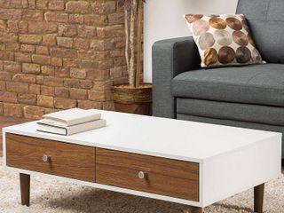 Gemini Wood Contemporary Coffee Table