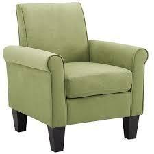 porch and den royalann microfiber fabric armchair Green  Retail 153 99