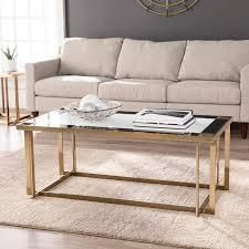 silver orchid martinson contemporary gold metal cocktail table Retail 409 49