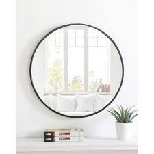 Carson Carrington labbemala Metal Frame Round Mirror  Retail 141 49 brass