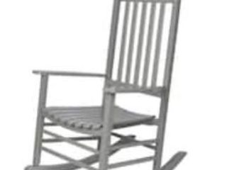 Porch   Den Steeplechase Porch Rocker Chair Retail 149 99 STORM GRAY