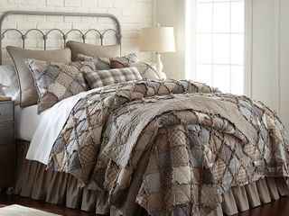 Donna Sharp Smoky Mountain Quilt  Multi  Std Sham Only