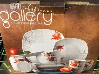16pc Dinnerware Set   lily