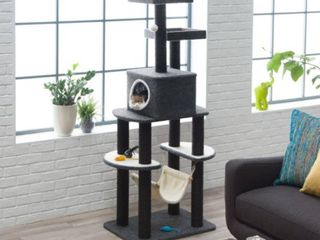 Boomer and George 68 5 Gray Cat Tree
