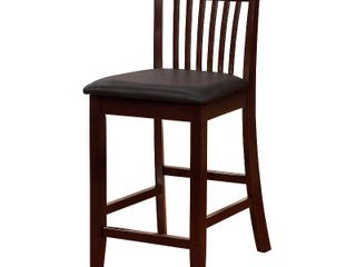 James Bar Stool  Black