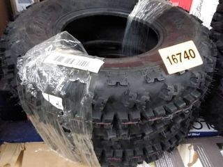 pair of tires atv set of 2 maxauto at22x710