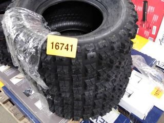 pair of atv tires set of 2 maxauto at20x109
