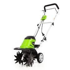 green works 11 inch electric cultivator