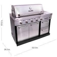 Char Broil Medallion Series Modular Outdoor Kitchen TRU Infrared 5 Burner Gas Grill and MEDAllION SERIES MODUlAR OUTDOOR KITCHEN ENTERTAINMENT MODUlE