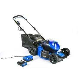 Kobalt 40 volt Brushless lithium Ion 20 in Cordless Electric lawn Mower  Battery Included