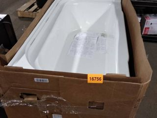 sterling accord 30 inch bath tub white