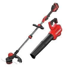 Craftsman Cordless 20v String Trimmer   Blower Kit Never Used Cmck197d1