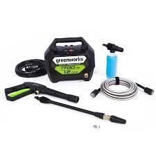 greenworks portable electric pussure washer