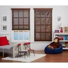 Copper Grove Yerevan Cordless Faux Wood Blinds