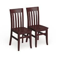 Copper Grove Glencairn Wood Dining Chairs   Set of 2