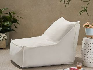 Tulum Outdoor Water Resistant Fabric Bean Bag lounger Cover by Christopher Knight Home