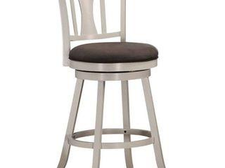 Acme Tabib Fabric Swivel Bar Chair