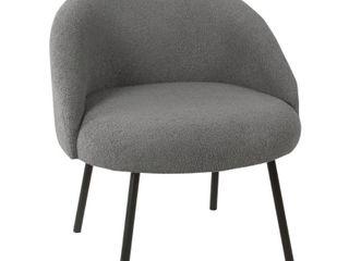 HomePop Modern Sherpa Accent Chair