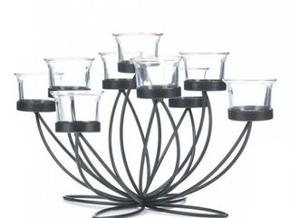 Gallery Of light Iron Bloom Candle Centerpiece