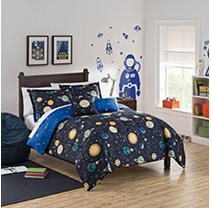 Waverly Kids Space Adventure Reversible Bedding Collection   Queen